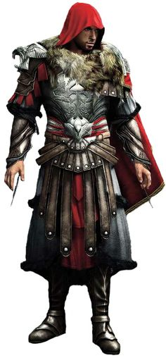 Assassin's Creed II: Ezio Auditore da Firenze in the Armor of Romulus