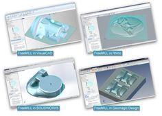 FreeMILL CNC freeware software