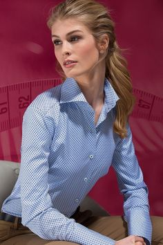 ff6f25cd Business Shirts, Business Look, Business Casual, Stylish Clothes For Women, Collar  Blouse