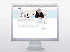 Pfister Treuhand – Webdesign www. Web Design, Design Web, Website Designs, Site Design