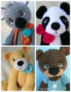 Cute Crochet Patterns by Teri Crews E-Books Available