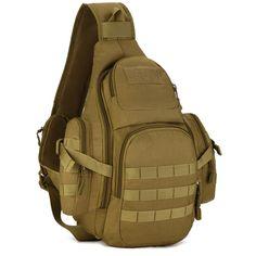 5e404a809b Sling Bag Outdoor Sports Bags Shoulder Bag Cycling Chest Bag Wear-Resistant  Nylon Crossbody Bag