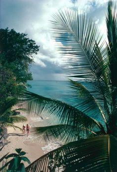 Barbados Beach (© Slim Aarons)