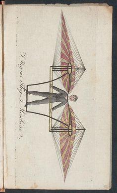 Die Kunst zu fliegen oder Geschichte aller Luftfahrten von Jakob Degen; Rar340