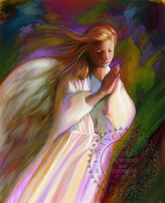 Guardian Angel by Nancy Noel Entertaining Angels, Angel Clouds, Touched By An Angel, I Believe In Angels, Angels In Heaven, Heavenly Angels, Angels Among Us, Z Arts, Guardian Angels