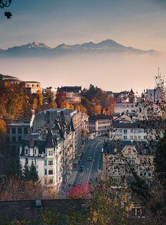 Lausanne, Switzerlanduno de los países más bello de toda Europa