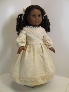 Sarah Hale Dress for 18 dolls by agseamstress on Etsy