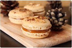 Macaron caramel d'abricot