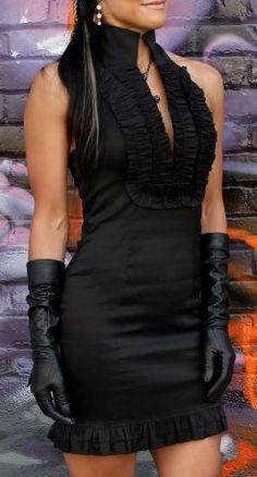 CAMEO OPERA DRESS - SHORT - BLACK STRETCH TAFFETA by Shrine Clothing Gothic Dresses Gothic Dress, Gothic Outfits, Opera Dress, Black Shorts, Alternative Fashion, Short Dresses, Sparkle, Clothing, Goth Dress