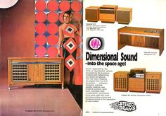 1960s stereo ad - Google Search
