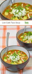 Low Carb Taco Soup – Step by Step Recipe