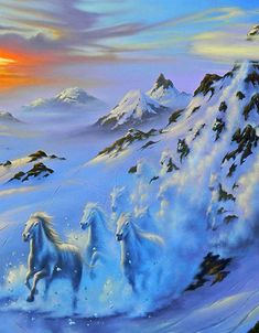 Mystic Mountain  by Jim Warren.