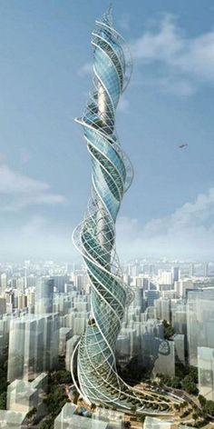 Wadala Tower - Mumbai, India - Modern Architecture