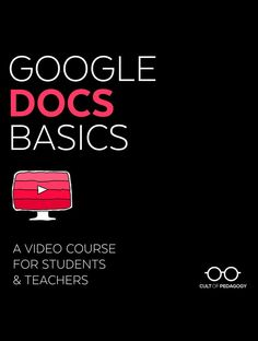 UPDATED! Teach yourself and your students to make the most of Google Docs with this 14-lesson video course, including printable Quick Notes and a differentiated Skills Challenge, to apply what you learn right away!