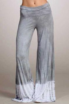 Grey and white Tie Dye Palazzo pants are baaaaaaaaaack! http://www.etsy.com/shop/PricklyPoppyFashion