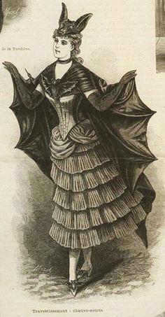 Halloween Victorian Style...