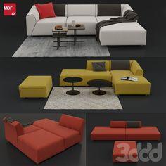 """Sofa """"THEA"""" by MDF Italia"""