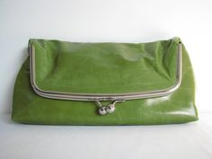 Leather Clutch Bag Handbag Purse Framed in by TheLeatherStore