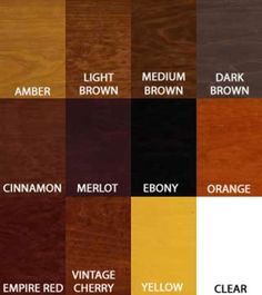 kitchen cabinet stains colors - Cabinet Stain