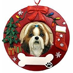 60 Shih Tzu Christmas Ornaments Ideas Shih Tzu Christmas Ornaments Ornaments
