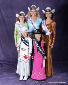 2014 MISS RODEO OKLAHOMA PAGEANT WINNERS