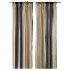 BJÖRNLOKA Curtains, 1 pair - IKEA; 20.00-- less pricey option than the West Elm ones for the living room; I prefer the others, but these could do if we want to spend our money elsewhere