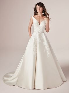 View All | Rebecca Ingram View All How To Dress For A Wedding, Perfect Wedding Dress, Dream Wedding Dresses, Designer Wedding Dresses, Bridal Dresses, Wedding Gowns, Dresses Dresses, Cheap Wedding Dress, Maggie Sottero Wedding Dresses