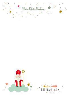 Boarder Designs, Theme Noel, Saint Nicholas, Winter Kids, Teaching French, Diy And Crafts, Saints, Illustration, Christmas