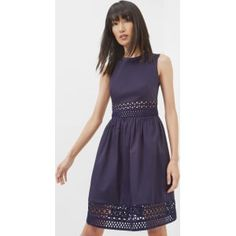 Shop for Ted Baker A-Line Lace Panel Dress Navy from Ted Baker at Westfield . Browse the latest styles online and buy from a Westfield store.
