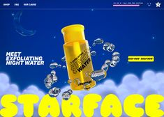 POSITIVELY EFFECTIVE SKINCARE MADE WITH CLINICALLY-PROVEN INGREDIENTS AND COSMIC CUTENESS Web Design Awards, Colour Story, Creativity And Innovation, Branding Design, Presentation, Positivity, The Unit, Skin Care, Cosmic