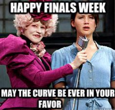 I don't remember giving finals to my middle school students.  End of unit tests, yes.  Finals, no.