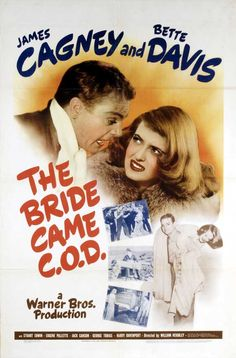 The Bride Came C.O.D. Movie Posters From Movie Poster Shop