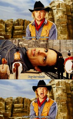 Somebody's gotta pay ~ Night at the Museum (2006) ~ Movie Quotes #amusementphile