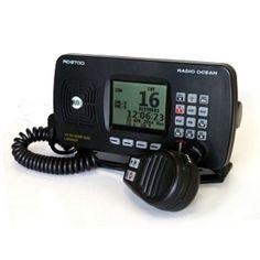 Radiotelefono VHF Radio Ocean RO6700, Vhf nautico fijo en color negro de clase…