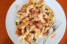 Kaiserschmarrn Rezept Cauliflower, French Toast, Pasta, Meat, Vegetables, Breakfast, Desserts, Food, Austria