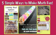 The Good Long Road: Kid's Co-Op: 5 Simple Ways to Make Math Fun!