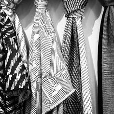 Designed in London, jacquard woven in Lancashire. Weaving Textiles, Jacquard Weave, Monochrome, Suit Jacket, Blazer, London, Fabric, Jackets, Shopping