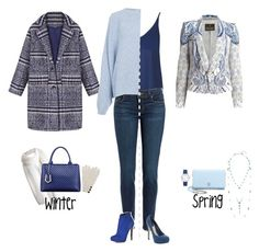 """""""Winter to spring"""" by blueeyed-dreamer ❤ liked on Polyvore featuring WithChic, Topshop, Paige Denim, Lucky Brand, Roberto Cavalli, Kate Spade, Christian Dior, Relaxfeel, Rodebjer and Nicholas Kirkwood"""