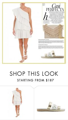 """Dress"" by sally92 ❤ liked on Polyvore featuring Whiteley, Cynthia Rowley, thegreekdesigners and cycladicframes"