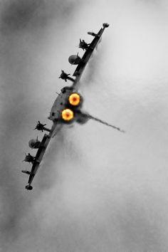 """ Typhoon   Oliver Tindall "" Jet fighter"