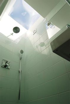 Shower skylight this is awesome