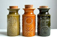 Portmeirion Totem range designed by Susan Williams-Ellis and were first produced in the 1960s