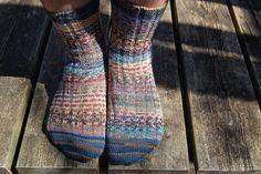 Joey's scrap socks by heatheratjoeyshouse, via Flickr