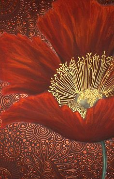 Single Red Poppy by Cherie Roe Dirksen (www.cherieroedirksen.com)