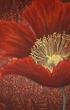 Single Red Poppy by Cherie Roe Dirksen (www.cherieroedirksen.com)