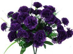 www.efavormart.com-silk flowers, silk, flower, silk flower, artificial flowers, carnation bushes, carnation, bush