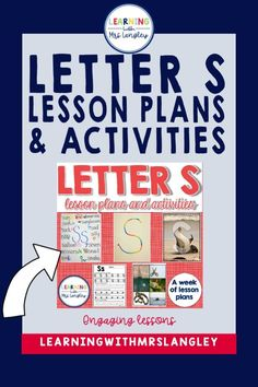 Your preschool students and kindergarten students will enjoy these alphabet lessons. Teach letter recognition and letter sound correspondence by immersing your students in a letter of the day or letter of the week. Book connections, center activities, independent, small group and whole group lessons are all included with detailed lesson plans. Alphabet Book, Learning The Alphabet, Word Work Centers, Letter Of The Week, Teaching Letters, Kindergarten Centers, Classroom Community, Letter Recognition, Hands On Activities