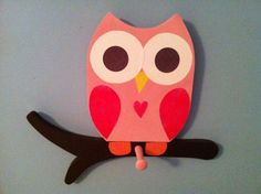 Wooden Owl Towel rack matches Saturday Knight Owl Bathroom Collection