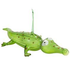 Oh What Fun: Pier 1 Crocodile Ornament