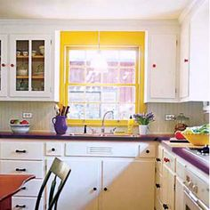 Photo: Laura Moss | thisoldhouse.com | from Editors' Picks: Our Favorite Colorful Kitchens